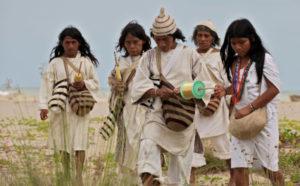 Aluna die Kogi-Indianer Film